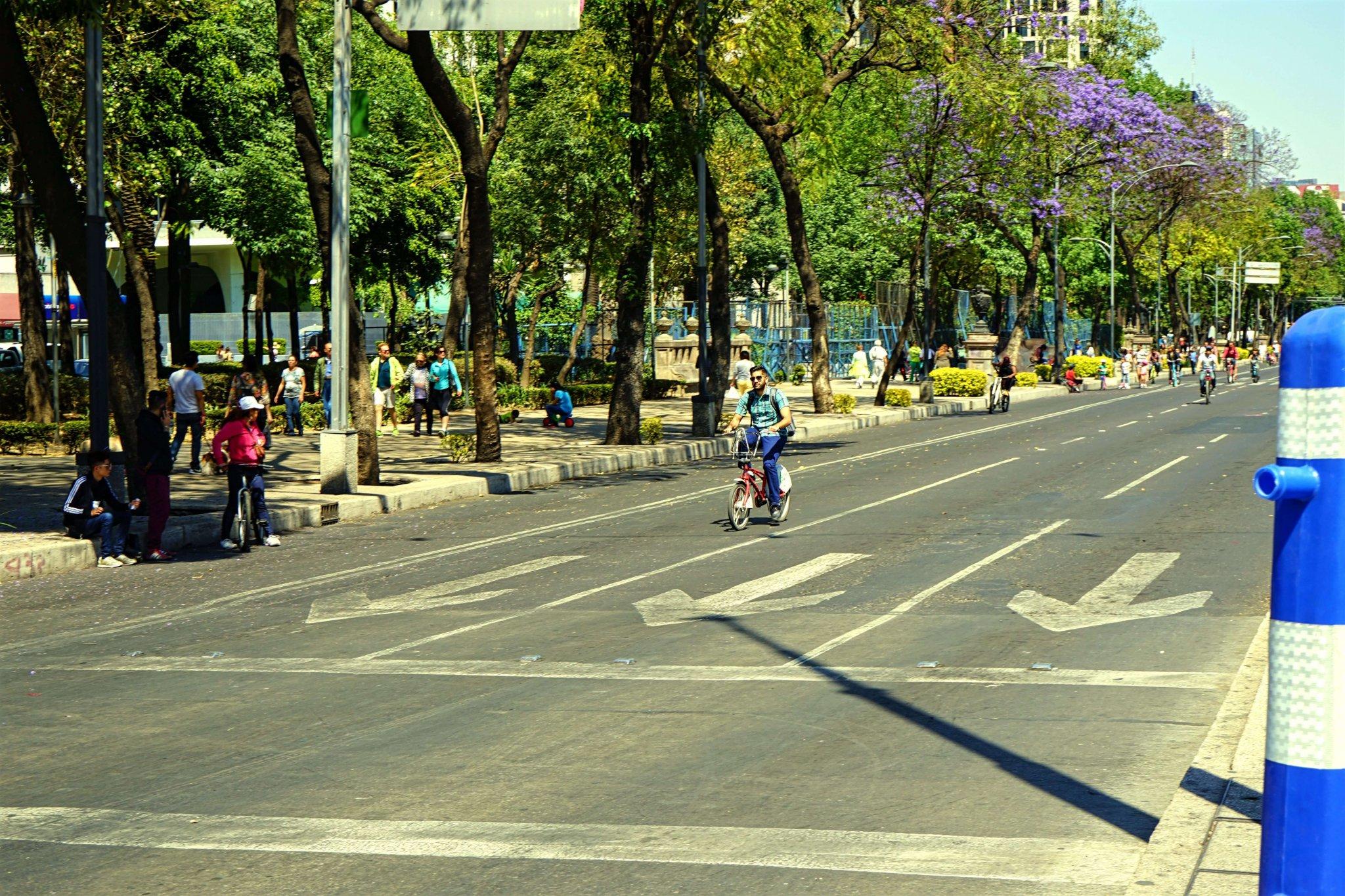 Mexico City Sunday Bike Ride