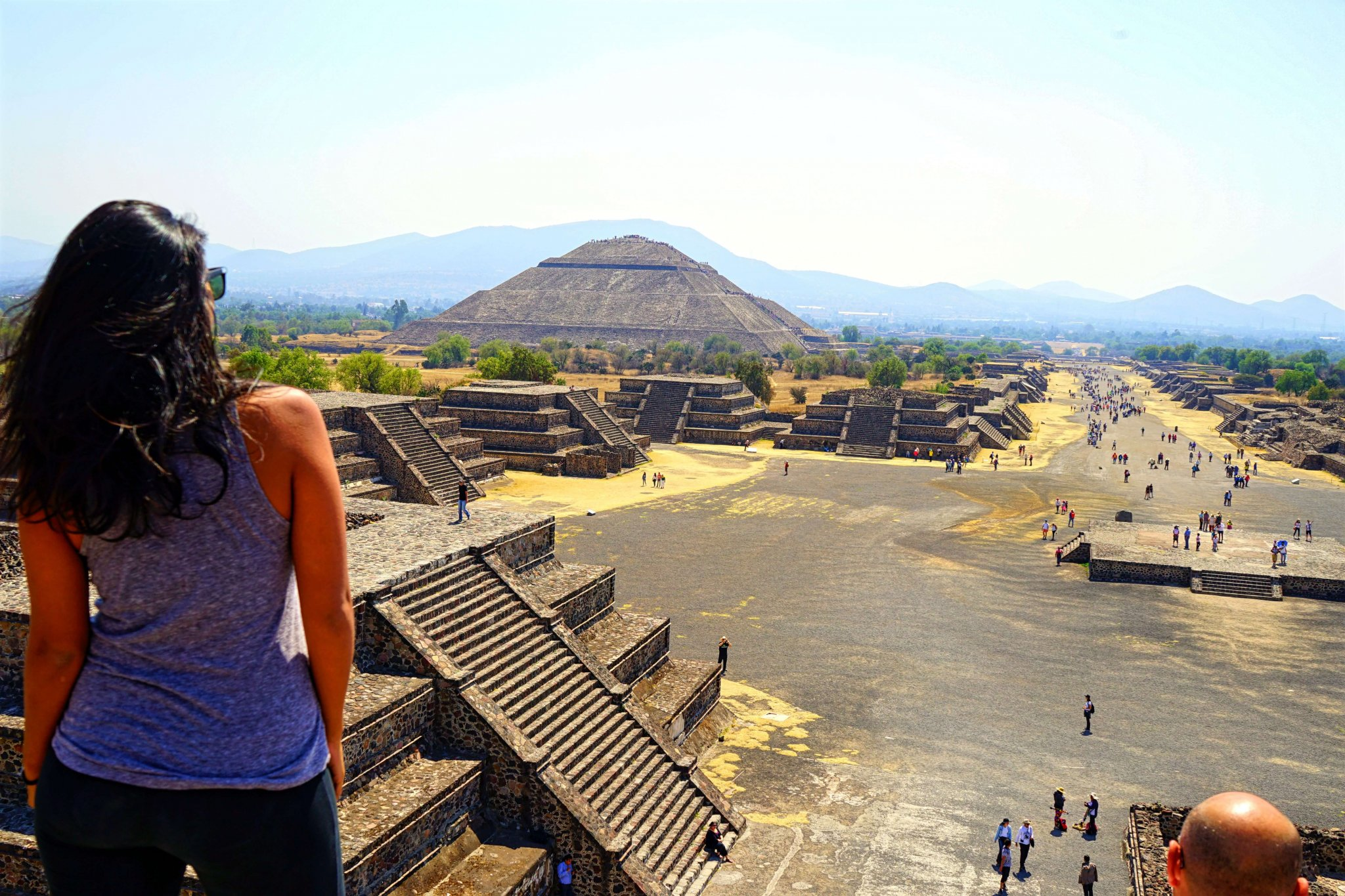 Teotihuacan Pyramids - Pyramid of the Moon