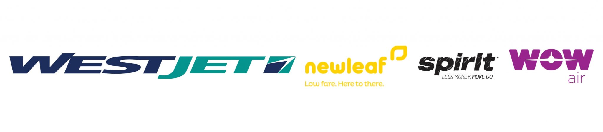 westjet newleaf spirit wow airlines