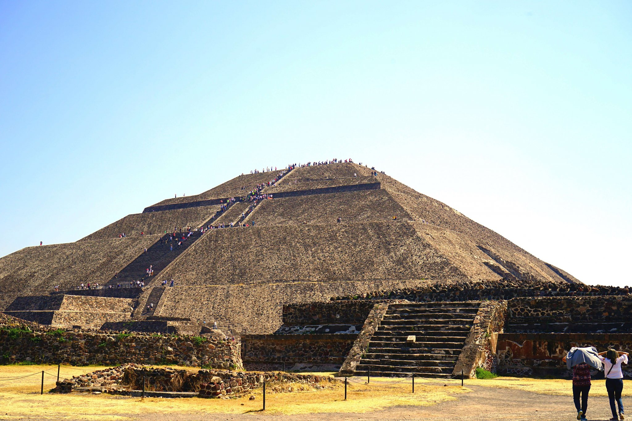 Teotihuacan Pyramids - Pyramid of the Sun