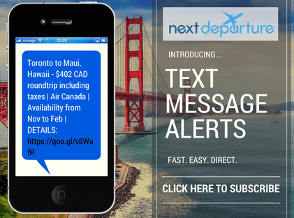 Sign Up Now For Text Message Alerts!